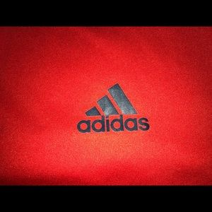 Adidas Dri-Fit shirt Size Large Red